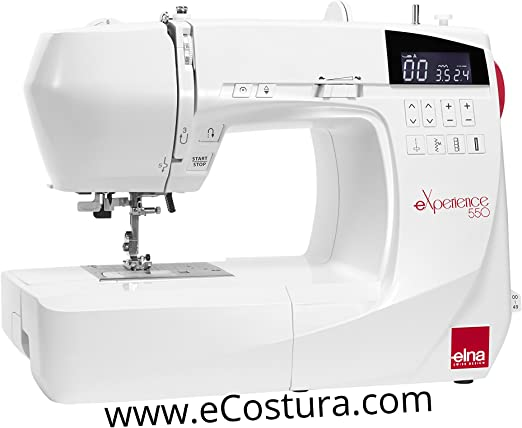 Máquina de coser ELNA eXperience 550: Amazon.es: Hogar