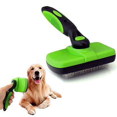 Cepillo de limpieza para mascotas, para mascotas, perros y gatos, pelo largo y