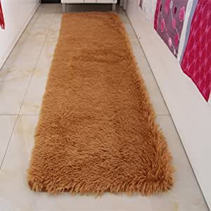 Door mat,Gate pad,Rug,Could be Washed by Water,Thicken,Long Cashmere,Hair mats,Bedroom,[Bedside],Bay Window mats,Balconies mats-H 160x230cm(63x91inch) 160x230cm(63x91inch)