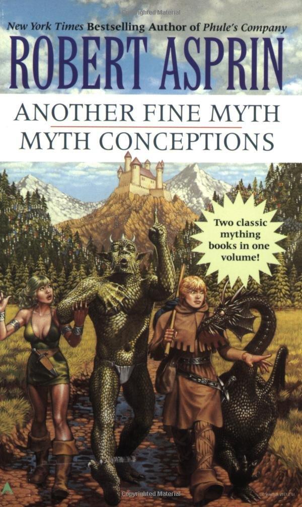 Download Another Fine Myth/Myth Conceptions 2-in1 (Myth 2-in-1) pdf epub