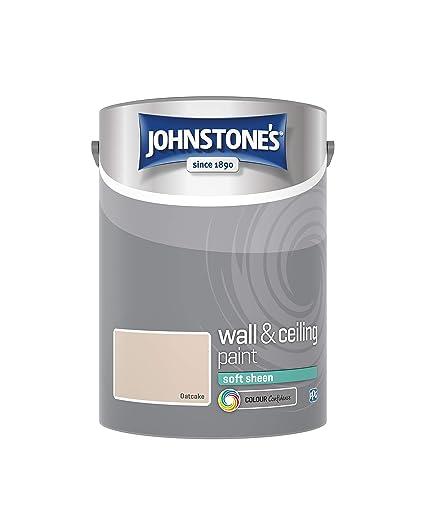 a26940be6 Johnstone's 304191 5 Litre Soft Sheen Emulsion Paint - Oatcake:  Amazon.co.uk: DIY & Tools