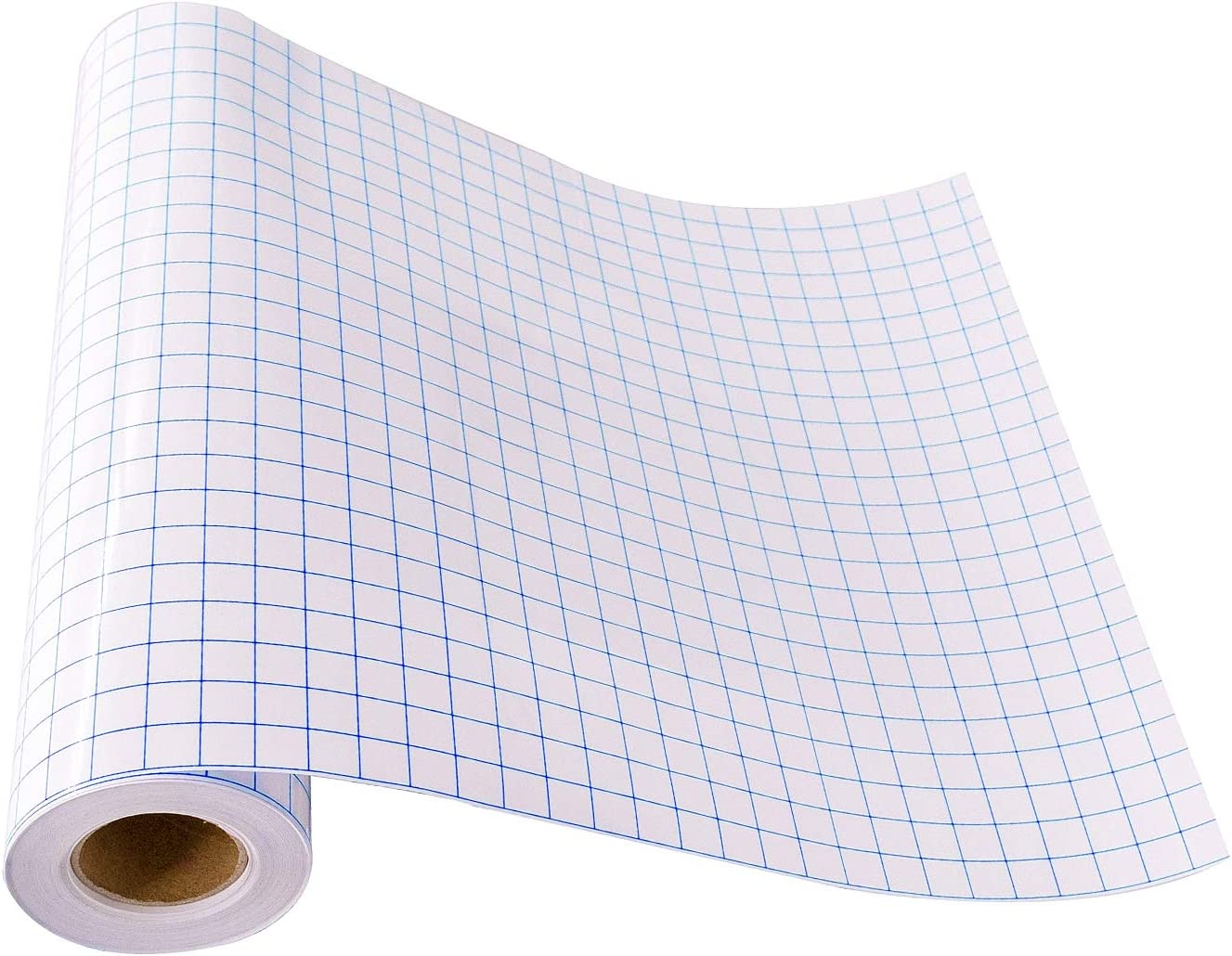 Vinyl Transfer Paper with Grid Medium Tack Application Tape Vinyl Transfer tape Red Grid Vinyl Transfer Paper w Backing 12 by 12 sheets