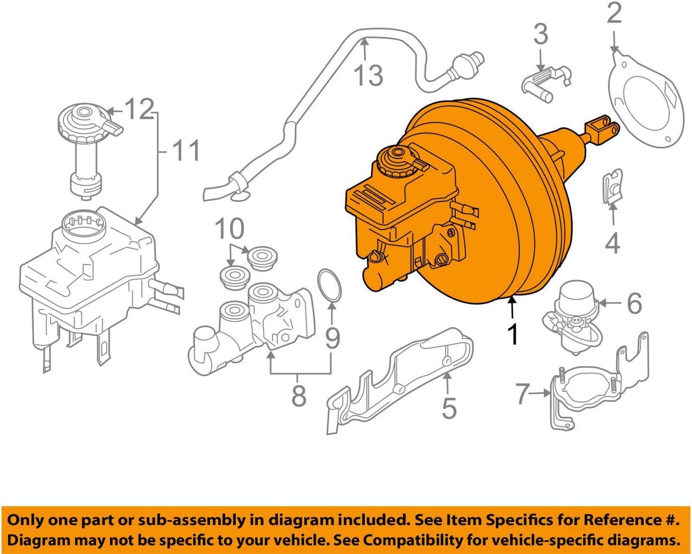 2007 bmw 525i brake diagram amazon com bmw genuine brake booster for 525i 525xi 530i 530xi  amazon com bmw genuine brake booster