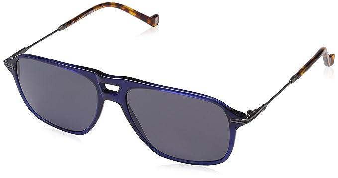 Hackett London HSB86568356 Gafas de Sol, Azul, 56 para ...