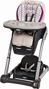 Graco Blossom 6-in-1 Convertible High Chair, Nyssa