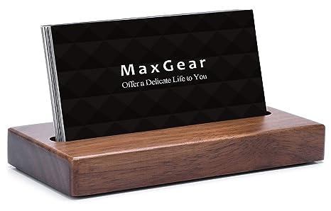 Amazon.com: MaxGear - Soporte para tarjetas de visita ...