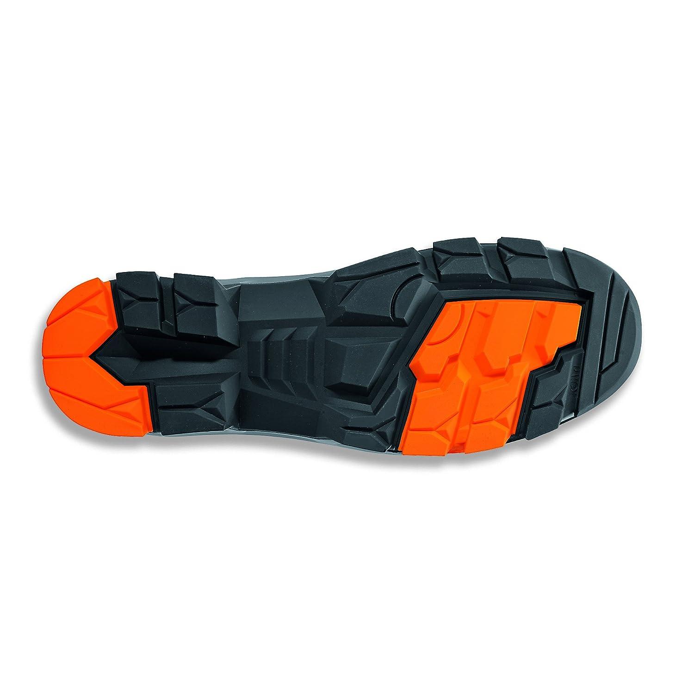 Uvex 2 Arbeitsschuhe Weite 12 // Weit GR Sicherheitsstiefel S3 SRC ESD Orange-Schwarz