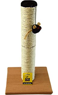 Pet Supplies Dishes, Feeders & Fountains Sisal & Fur Cat Post Scratcher With The Best Service