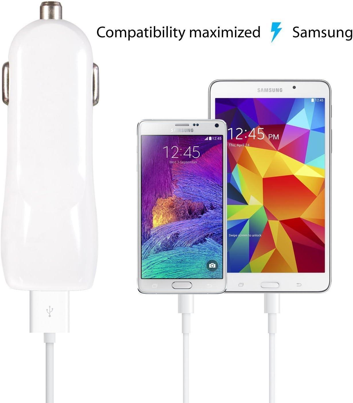 iRAG Charger for Samsung Galaxy S7/S7 Edge/S6/S6 Plus/J7 V/J7 Prime/J3 Prime/J3 Eclipse/S4/S3/Note 4/5/ Note Edge/J3 Emerge/J7 Perx/Amp Prime 3.1 AMP ...