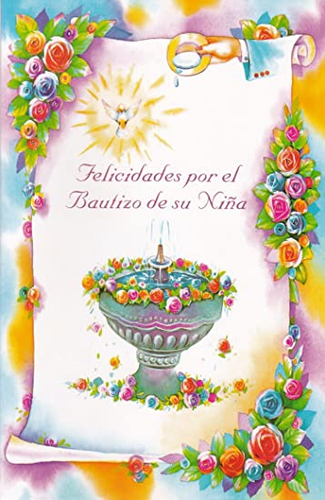 Amazon bautizo spanish baptism greeting cards in a bulk 12 pack bautizo spanish baptism greeting cards in a bulk 12 pack m4hsunfo