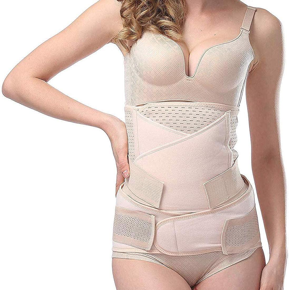 Aigori 3 in 1 Postpartum Belly Wrap C Section Recovery Waist Band Pelvic Belt Body Postpartum Shapewear /…