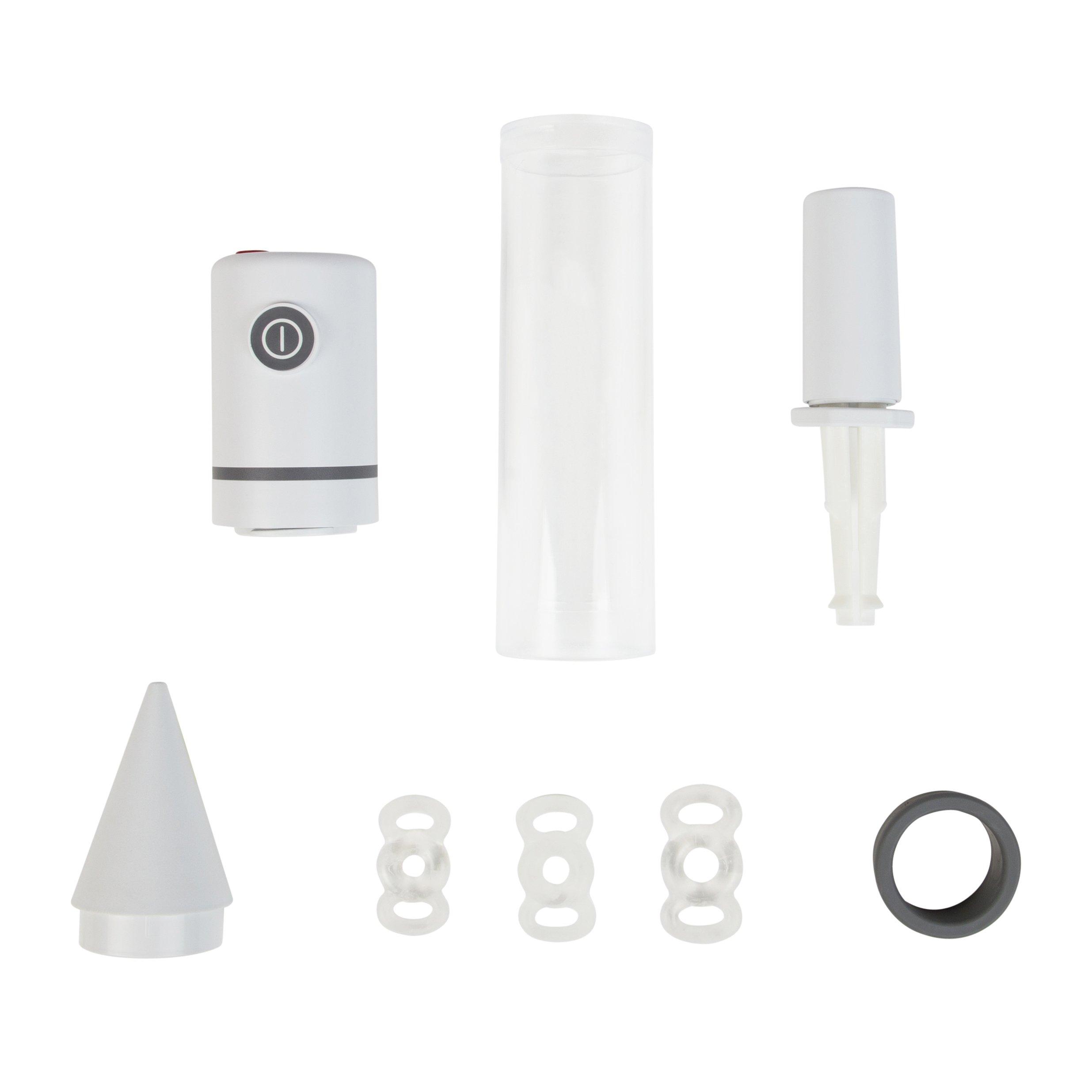 Vacuum Pump for Men, Natural Alternative to Erectile Dysfunction Pills, Automatic Penis Pump, Men's Pump Head for Erectile Dysfunction - Pos-T-Vac ErecTech B2000 Pump Head by POS-T-VAC (Image #2)