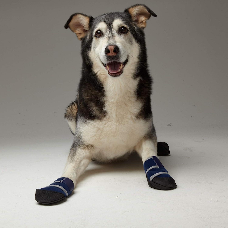 Healers Petcare Medical Dog Bootie Blue Single Unit