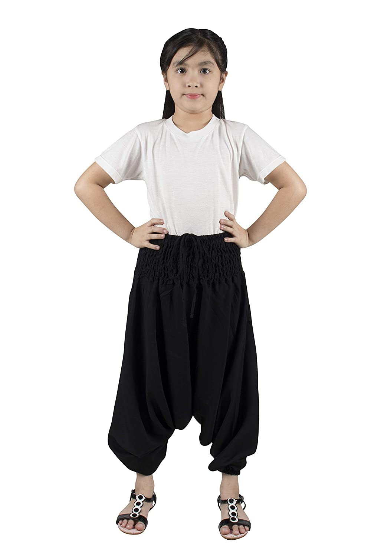 Lofbaz Baby Hippy Thai Harem Aladdin Pirate Kids Pants Bohemian Baggy Colorful
