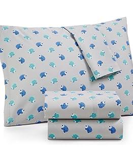 Amazon.com : Martha Stewart WHIM Collection 100% Cotton Sheet Set ...