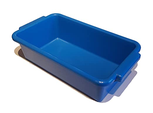 tb250 bolsa de basura de recipiente de plástico azul: Amazon ...