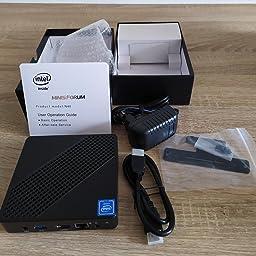 Mini Pc Fanless Intel Celeron N40 4 Gb Ddr4 Amazon De Computers Accessories