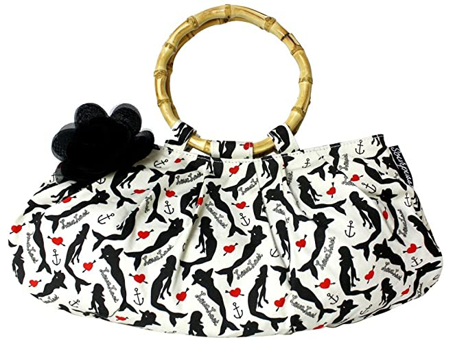 Vintage & Retro Handbags, Purses, Wallets, Bags Love Lost Lulu Purse from Sourpuss Clothing $27.98 AT vintagedancer.com