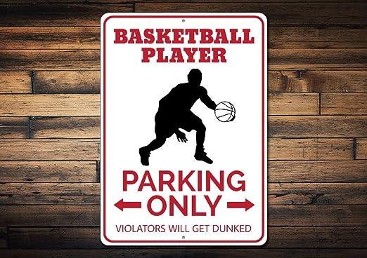 Cartel de baloncesto para estacionamiento, cartel de baloncesto ...
