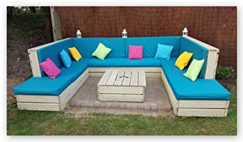 Zippy UK Made to Measure - Quote & Fabric Samples for waterproof cushions  for - Pallet Furniture - Rattan Furniture - Garden Furniture - Campervans -