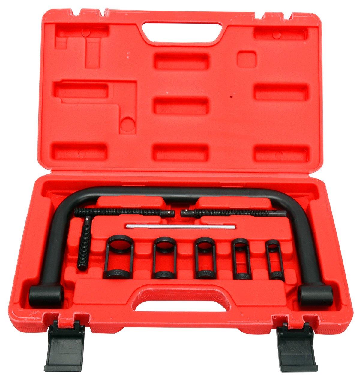 FreeTec, compressore per molle della valvola, set di attrezzi per il montaggio freebirdtrading