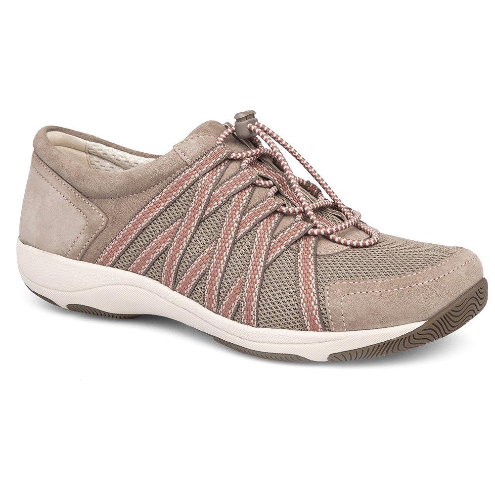 Dansko Women's Honor Sneaker, Walnut Suede, 38 M EU (7.5-8 US)