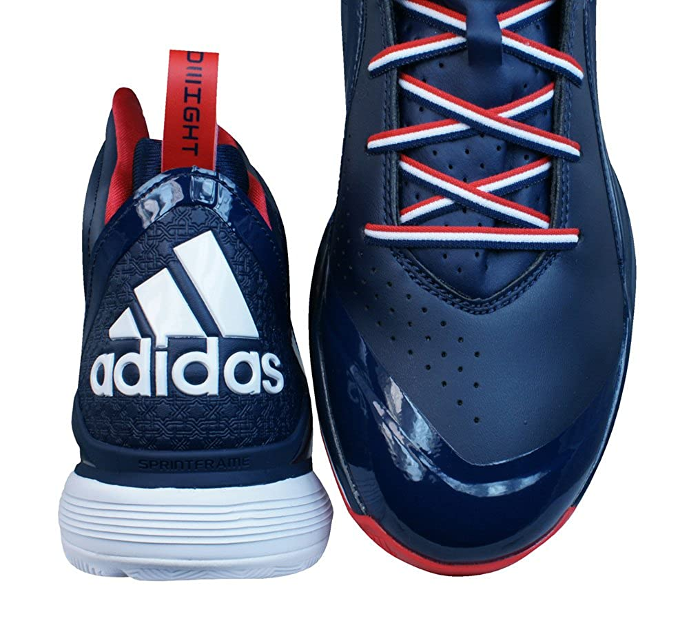 finest selection 67b89 aec7e adidas D Howard 5 Mens Basketball Trainers  Shoes-Blue-17 Amazon.co.uk  Shoes  Bags