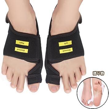 Blomed 外反母趾 サポーター 親指矯正 痛み改善 美脚効果 フットケア 内反小趾 シリコンパッド サイズ調整可 男女兼用