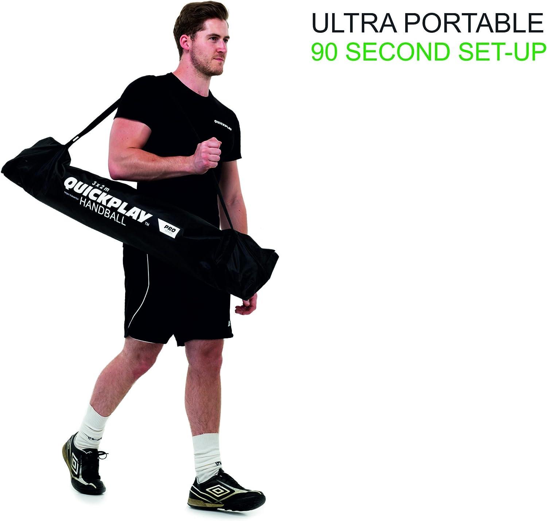 /Approuv/é par Les europ/éens de Handball Quick Play Portable Handball But/