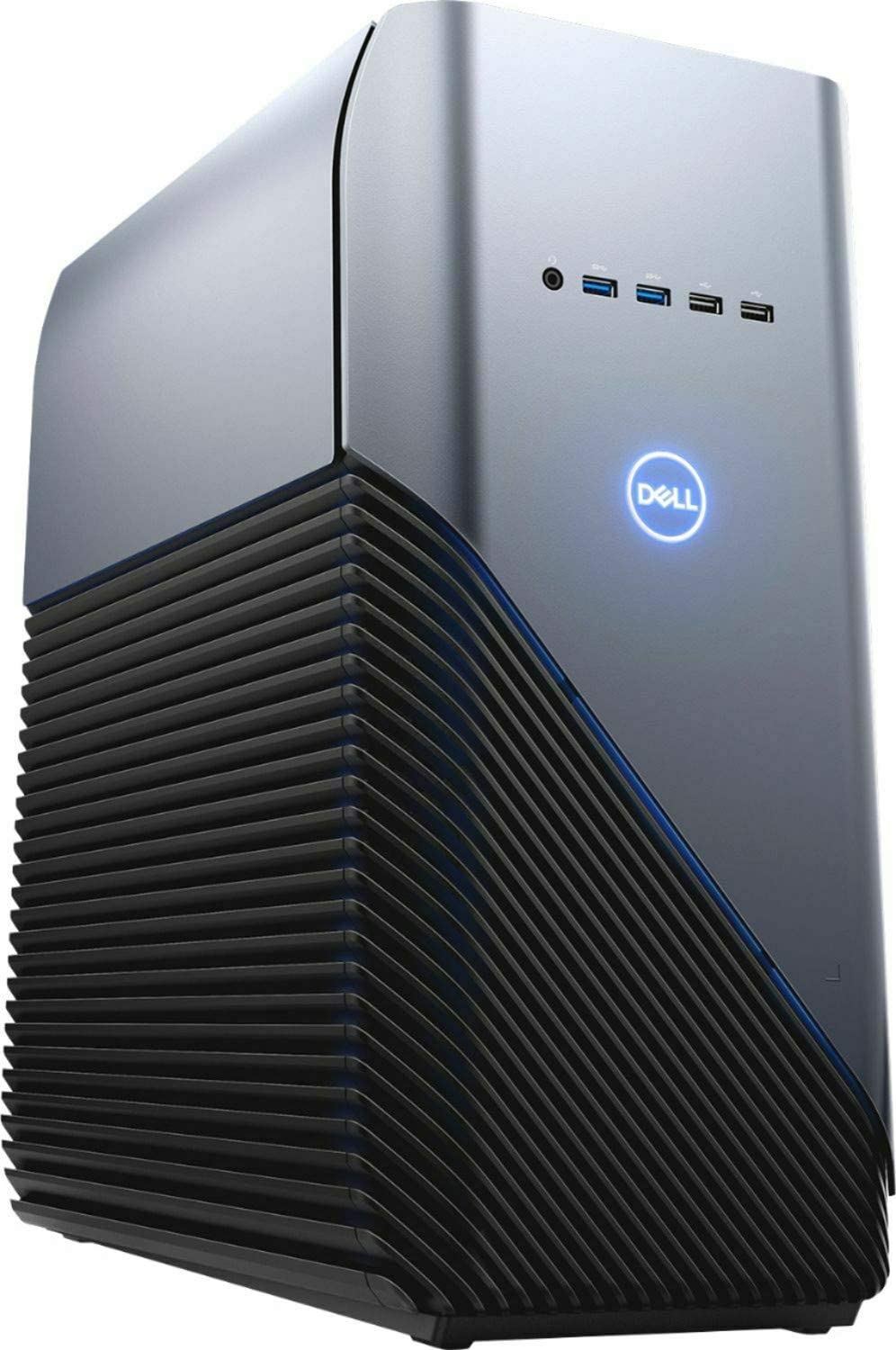 2019 Dell Inspiron Gaming Desktop Computer, AMD Ryzen 7-2700X 8-Core up to 4.3GHz, 32GB DDR4 RAM, 1TB 7200rpm HDD + 256GB SSD, Radeon RX 580, USB 3.1, HDMI, 802.11ac WiFi, Bluetooth 4.1, Windows 10