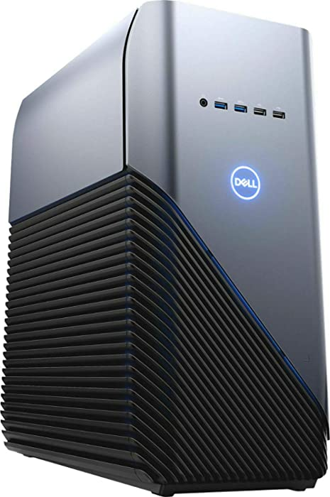 2019 Dell Inspiron Gaming Desktop Computer, AMD Ryzen 7-2700X 8-Core up to 4.3GHz, 32GB DDR4 RAM, 1TB 7200rpm HDD + 1TB SSD, Radeon RX 580, USB 3.1, HDMI, 802.11ac WiFi, Bluetooth 4.1, Windows 10