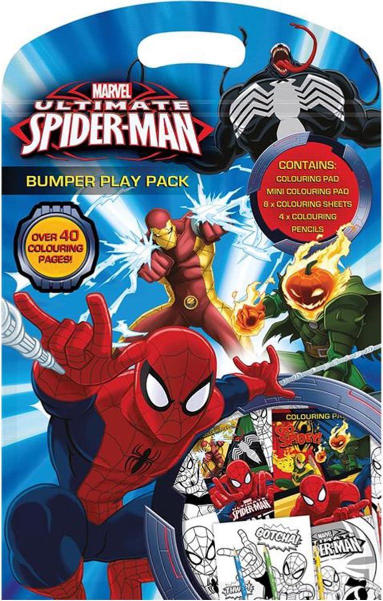 Anker spbpp2 Ultimate Spiderman Bumper Play Pack: Amazon.es ...