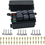 Amazon.com: ONLINE LED STORE 12-Slot Relay Box [6 Relays] [6 Blade on