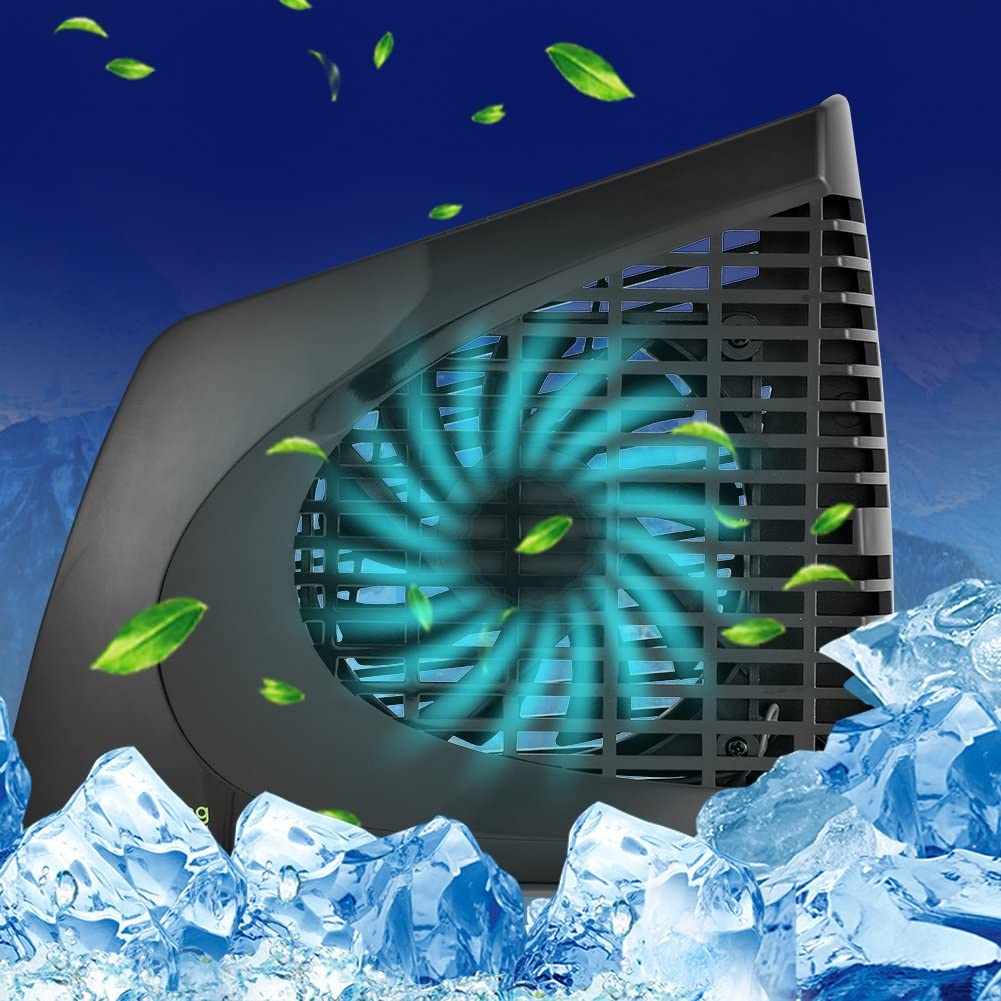External Side Cooler for Microsoft Xbox 360 Slim Console Game Players Hakeeta Mini USB Cooling Fan