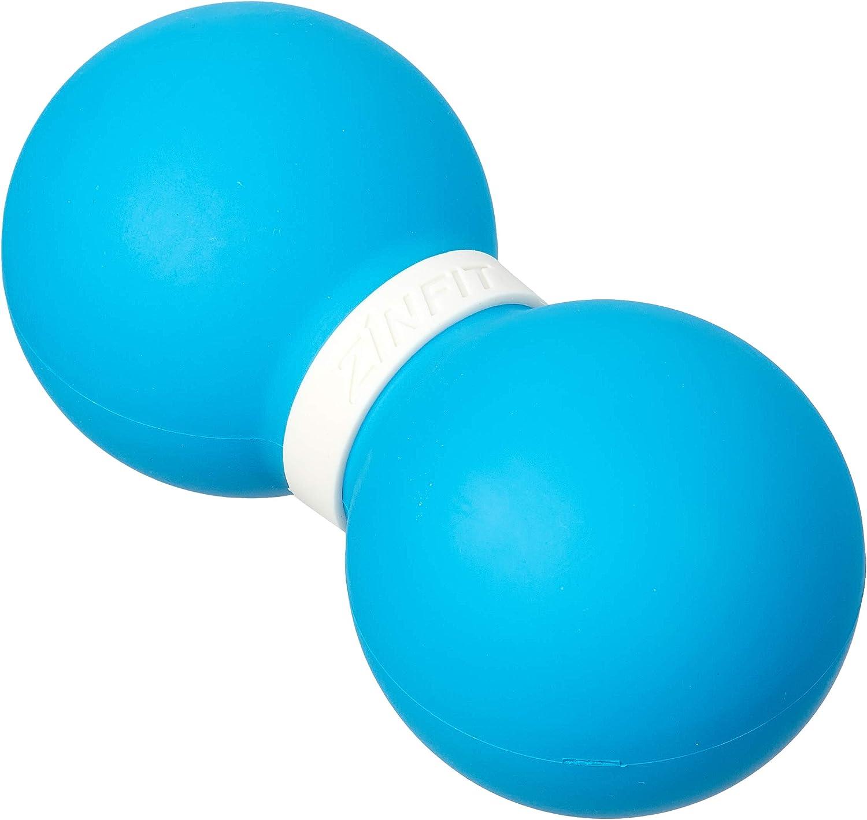 Peanut Duo Ball und Massageball Set 1x Faszien Ball 1x Duoball Faszienball Blau