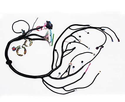Incredible Amazon Com Mophorn Standalone Swap Wiring Harness For 03 07 Chevy Wiring 101 Capemaxxcnl