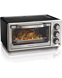 Amazon Hamilton Beach C 6 Slice Toaster Oven Broiler