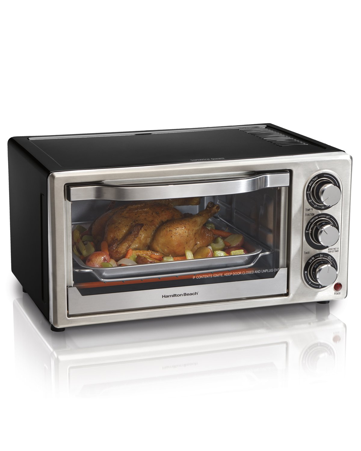Hamilton Beach 31512 Convection 6-Slice Toaster Oven