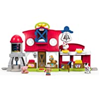Fisher-Price Little Caring for Animals Farm Playset