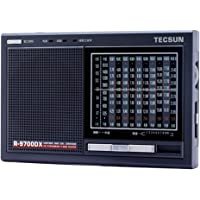 Tecsun R-9700DX FM Stereo/MW/SW 1-10 High Sensitivity Full Band Radio Receiver with Built-in Speaker Dual Conversation…
