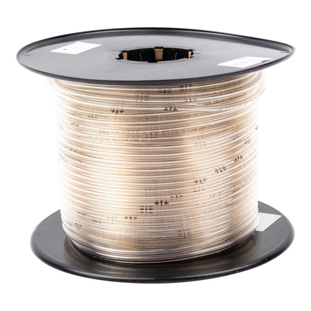 """1/8"""" X 1/4"""" Clear Vinyl Tubing by LDR 