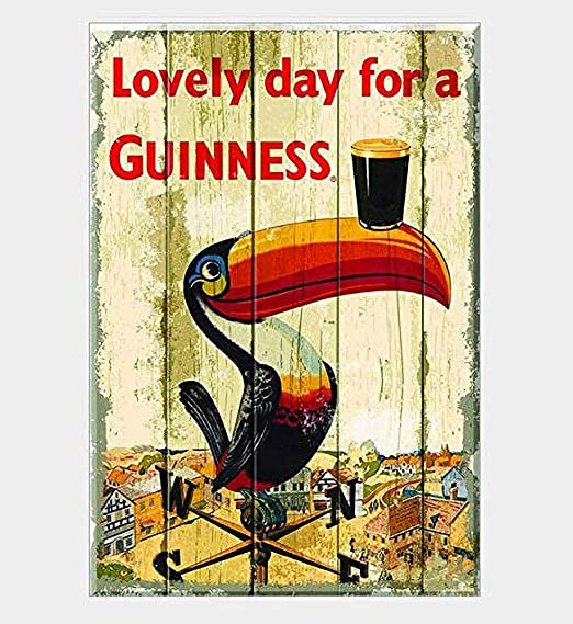 Froy Lovely Day a Guinness Souvenir Pared Cartel de Chapa ...