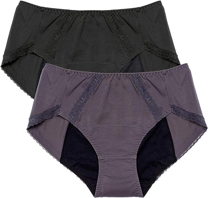 Intimate Portal Mujer Bragas Menstruales de Algodón para Mentruación Periodo (Debe Usarse con Compresas o Tampones): Amazon.es: Ropa y accesorios