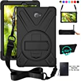 ZenRich Galaxy Tab A 10.1 Case 2016, SM-T580 T585 T587 Case Rugged zenrich Heavy Duty Shockproof Rotating Kickstand Hand…