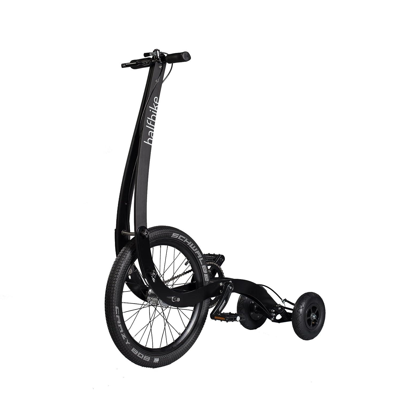 Halfbike è un nuovo tipo di veicolo che risveglia l'istinto naturale di muoversi! Leggero, compatto e pieghevole per un facile trasporto o stoccaggio