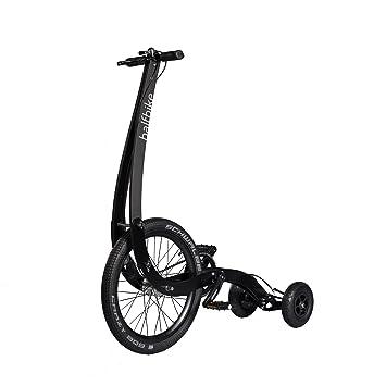 Bicicleta de Halfbike, negro, Large