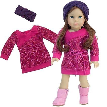 03de0dbc63a Amazon.com  18 Inch Doll Outfit