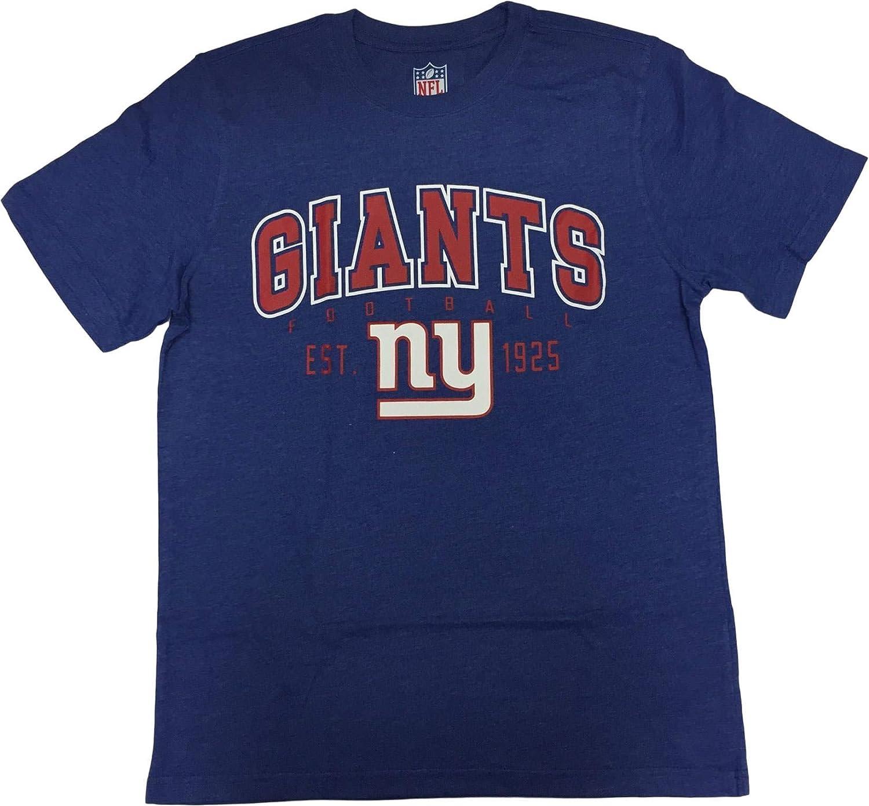 Crew Neck T-Shirt G-III Sports New York Giants Mens Franchise Est