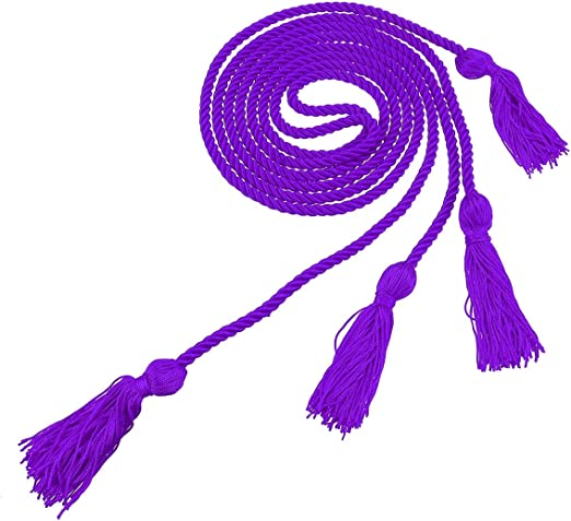 Graduation Solid Color Honor Cords