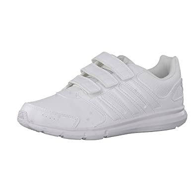 outlet store 5bbef 98bd0 adidas IK Sport CF Kid S77696 Unisex-Child Sports Shoe, White 3.5 UK Amazon .co.uk Shoes  Bags